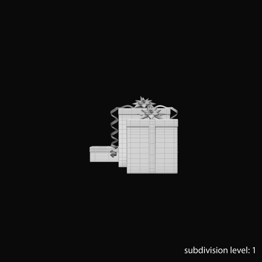 Geschenkboxen Rot royalty-free 3d model - Preview no. 23
