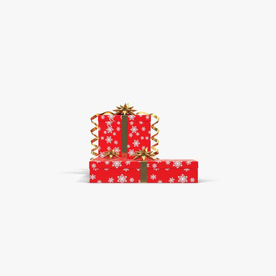 Geschenkboxen Rot royalty-free 3d model - Preview no. 6