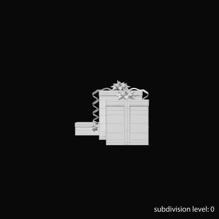 Geschenkboxen Rot royalty-free 3d model - Preview no. 22