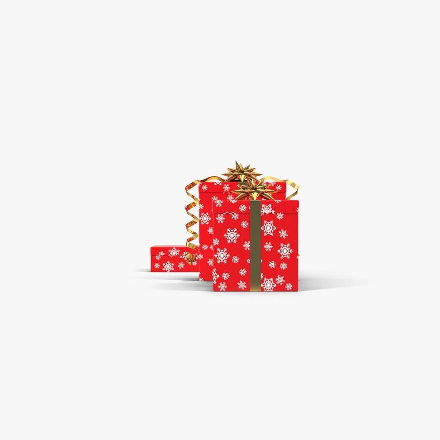 Geschenkboxen Rot royalty-free 3d model - Preview no. 7