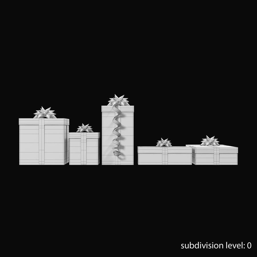 Geschenkboxen Rot royalty-free 3d model - Preview no. 16