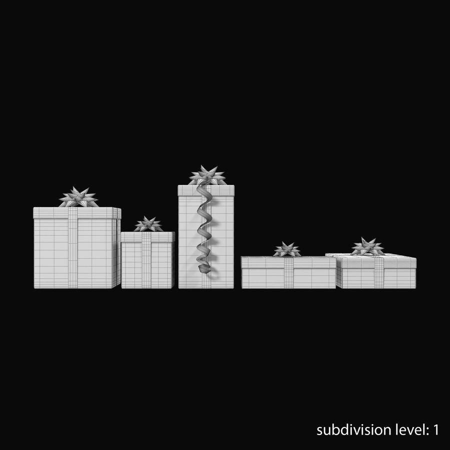 Geschenkboxen Rot royalty-free 3d model - Preview no. 17