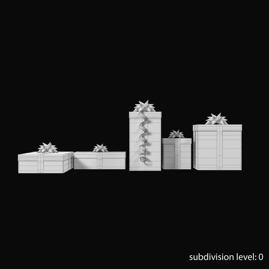 Geschenkboxen Rot royalty-free 3d model - Preview no. 20