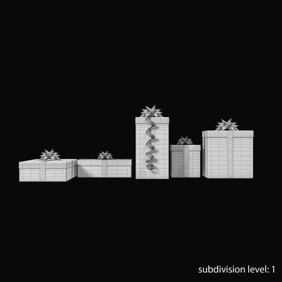 Geschenkboxen Rot royalty-free 3d model - Preview no. 21