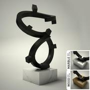 Скульптура № 01 3d model