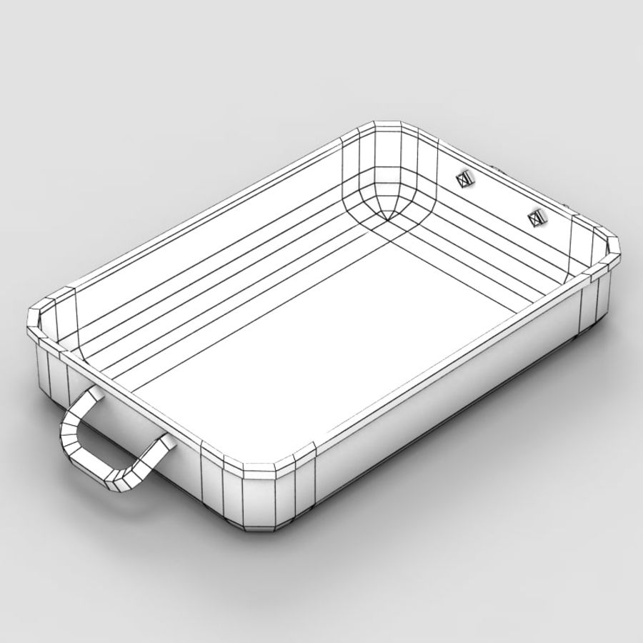 Plateau royalty-free 3d model - Preview no. 6