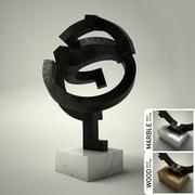 Sculpture n ° 35 3d model