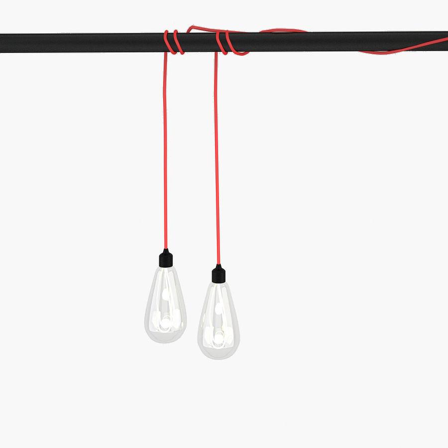 Bombilla de luz colgante royalty-free modelo 3d - Preview no. 1