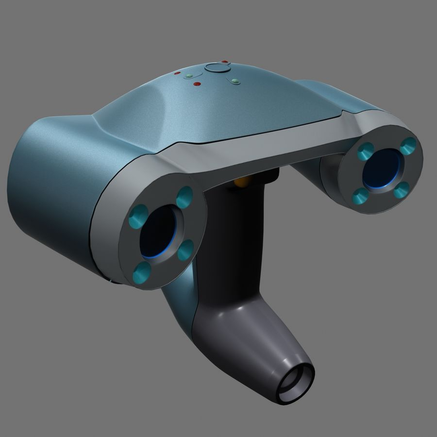3D-scanner royalty-free 3d model - Preview no. 2
