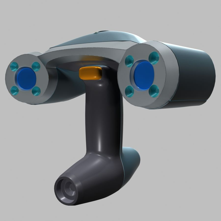 3D-scanner royalty-free 3d model - Preview no. 1