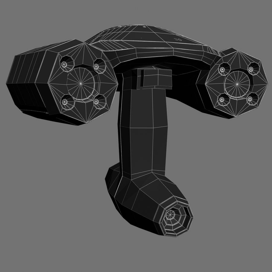 3D-scanner royalty-free 3d model - Preview no. 5