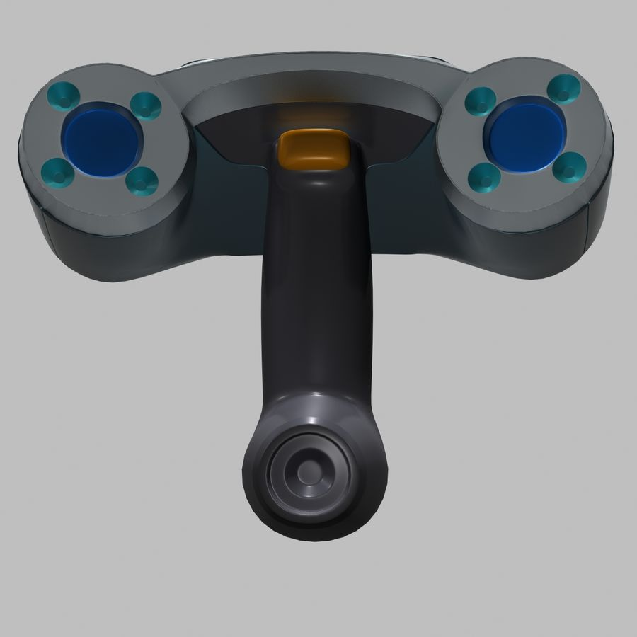3D-scanner royalty-free 3d model - Preview no. 10