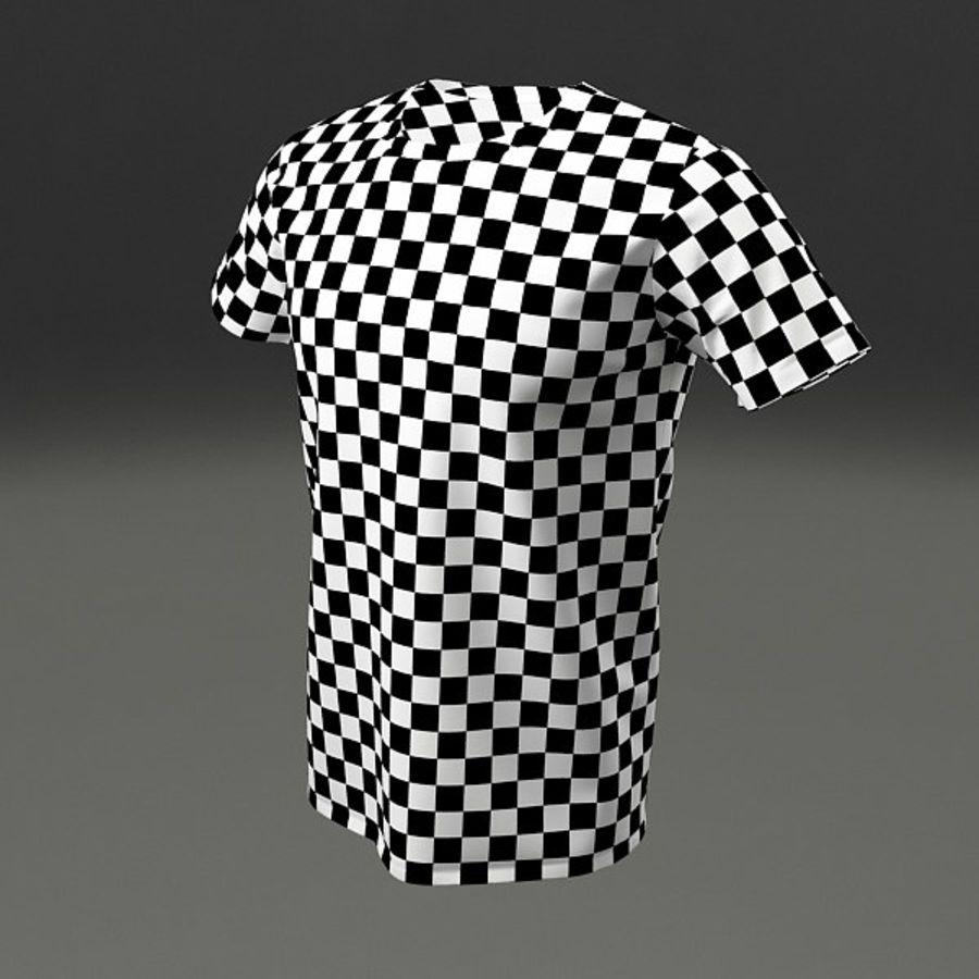 T-shirt męski royalty-free 3d model - Preview no. 3
