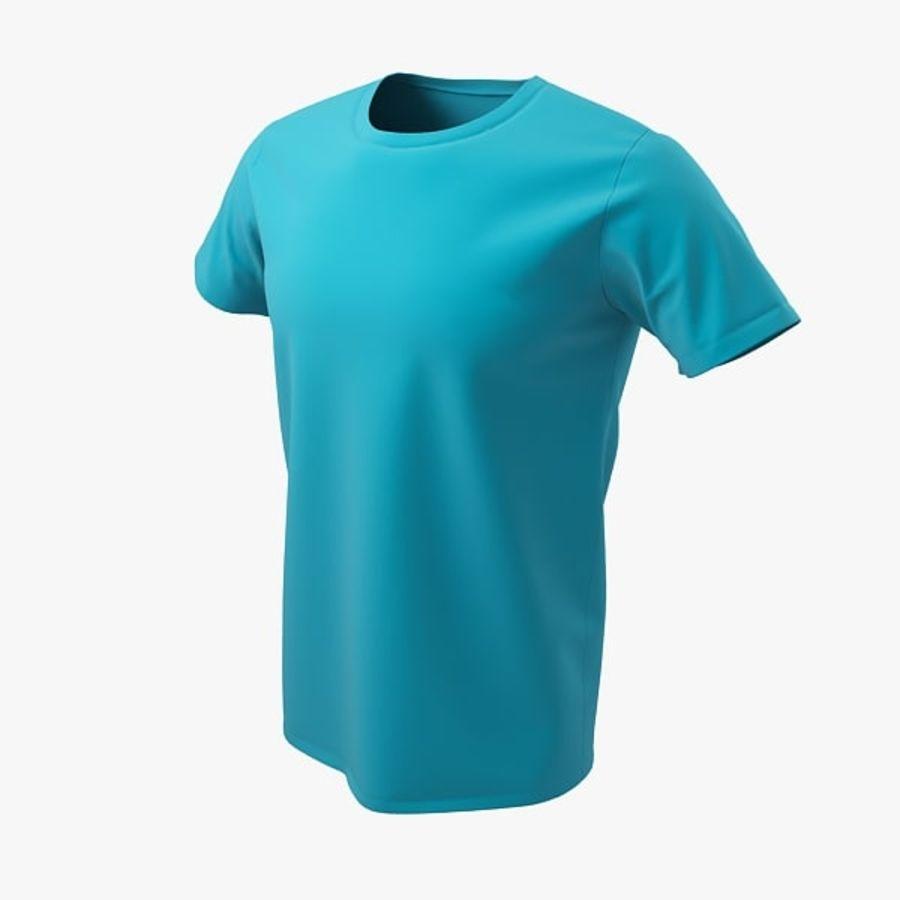 T-shirt męski royalty-free 3d model - Preview no. 1