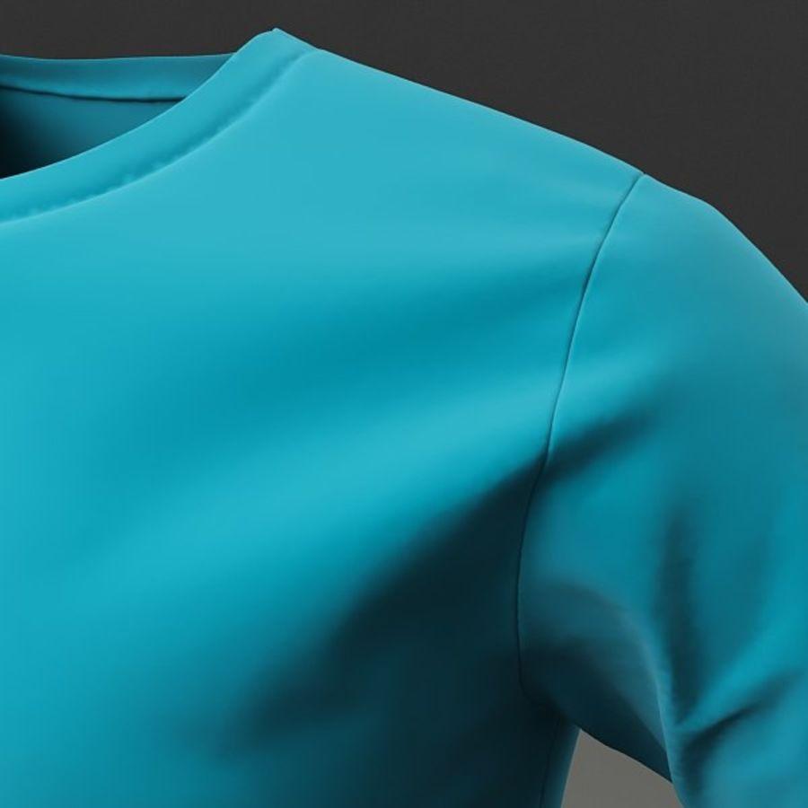 T-shirt męski royalty-free 3d model - Preview no. 4