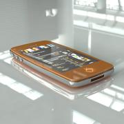 Teléfono genérico modelo 3d
