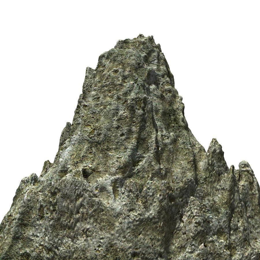 Rock royalty-free 3d model - Preview no. 2