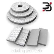 Cleaning pads 3d model
