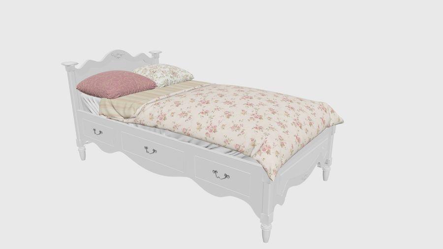 Lit bébé royalty-free 3d model - Preview no. 4