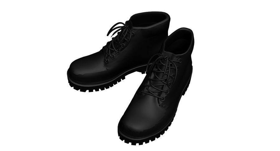 Stiefel royalty-free 3d model - Preview no. 1