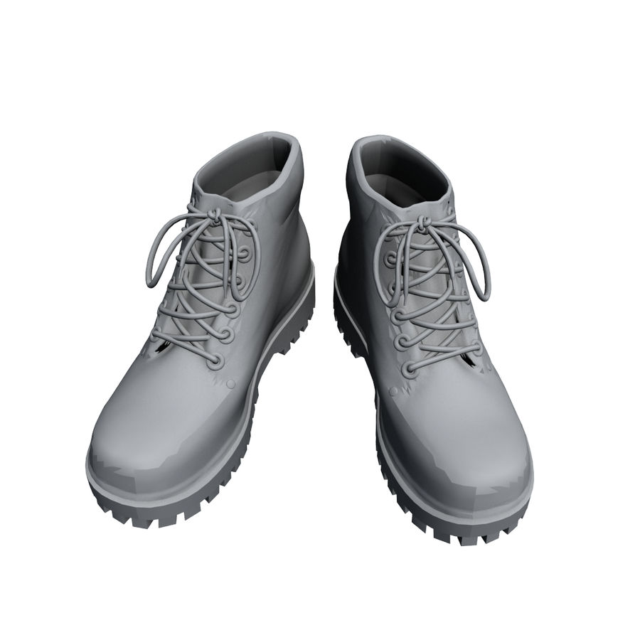 Stiefel royalty-free 3d model - Preview no. 4