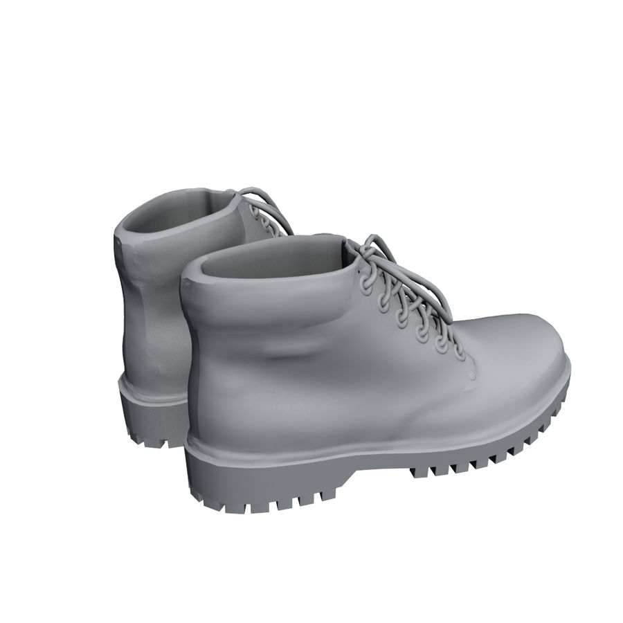 Stiefel royalty-free 3d model - Preview no. 7