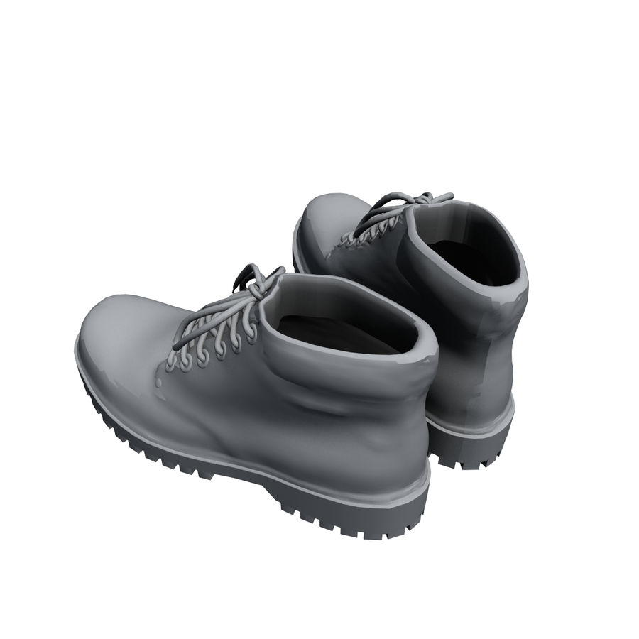 Stiefel royalty-free 3d model - Preview no. 6