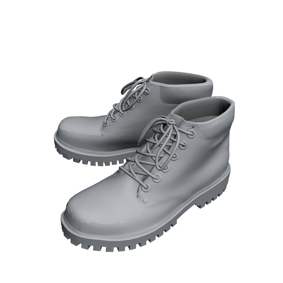 Stiefel royalty-free 3d model - Preview no. 5