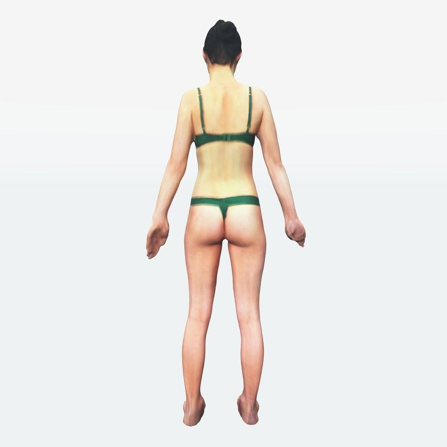 Ref женского тела royalty-free 3d model - Preview no. 27