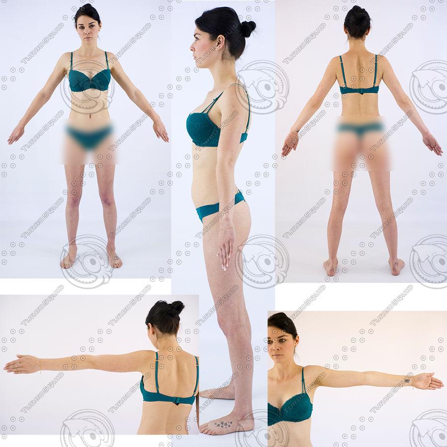 Ref женского тела royalty-free 3d model - Preview no. 29