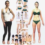 Weiblicher Körper 3d model