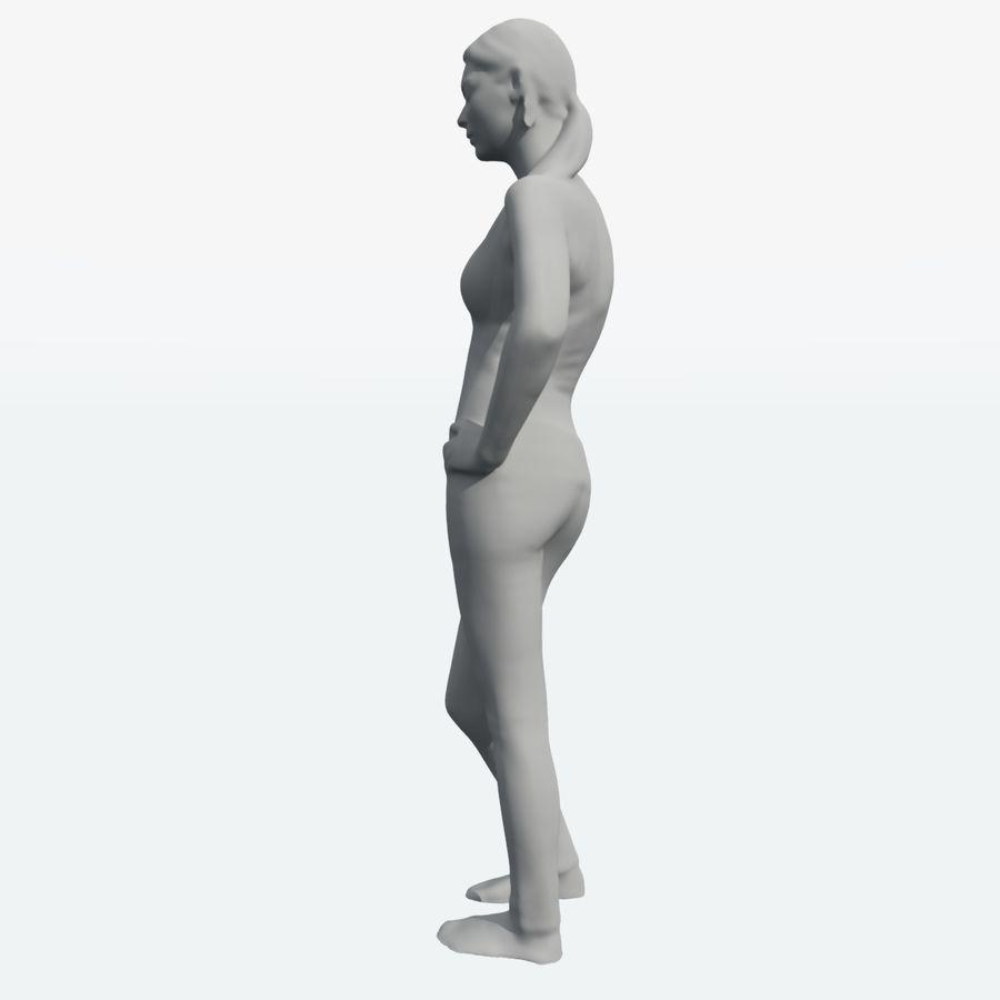 Ref женского тела royalty-free 3d model - Preview no. 3