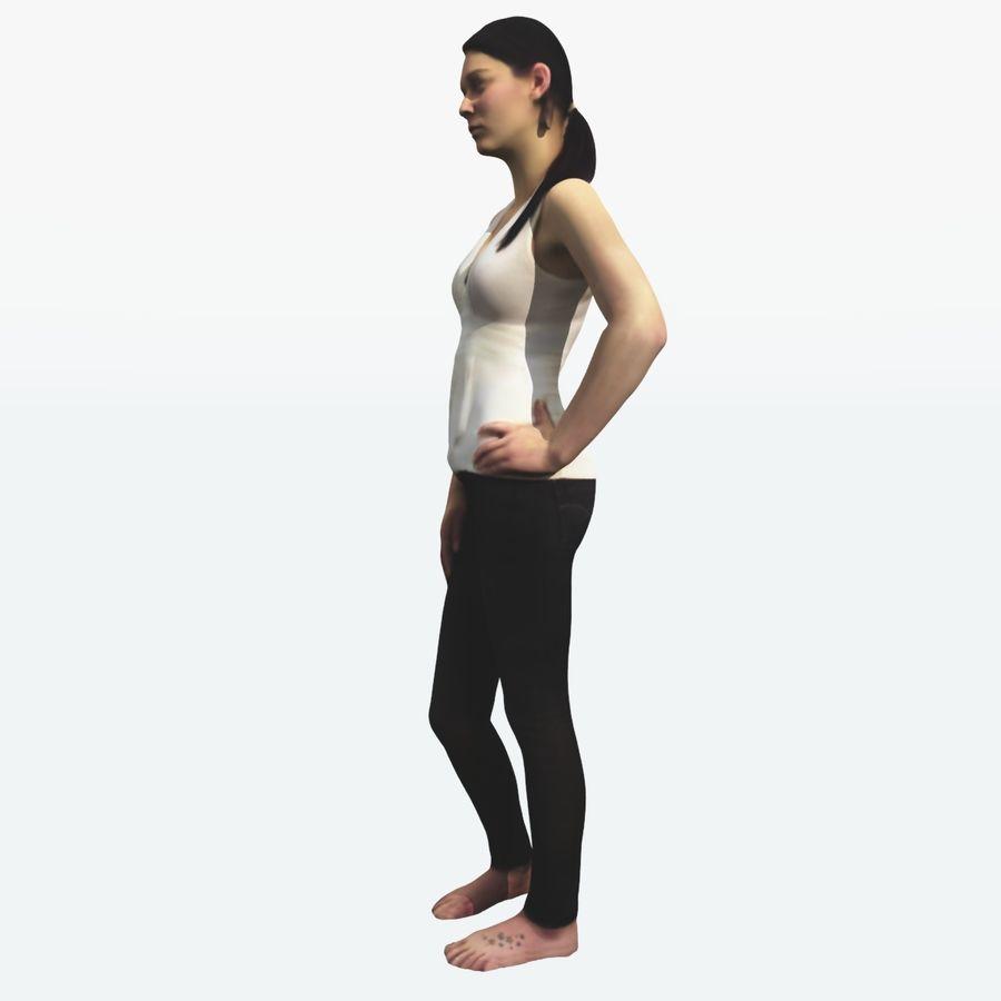 Ref женского тела royalty-free 3d model - Preview no. 7