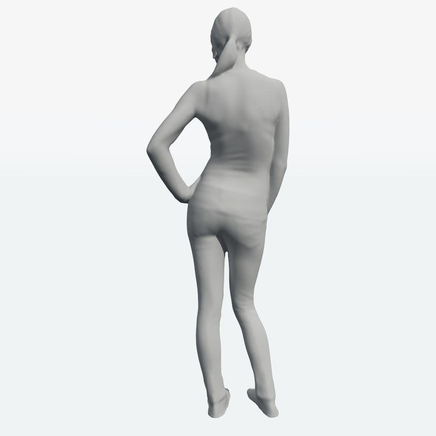 Ref женского тела royalty-free 3d model - Preview no. 40