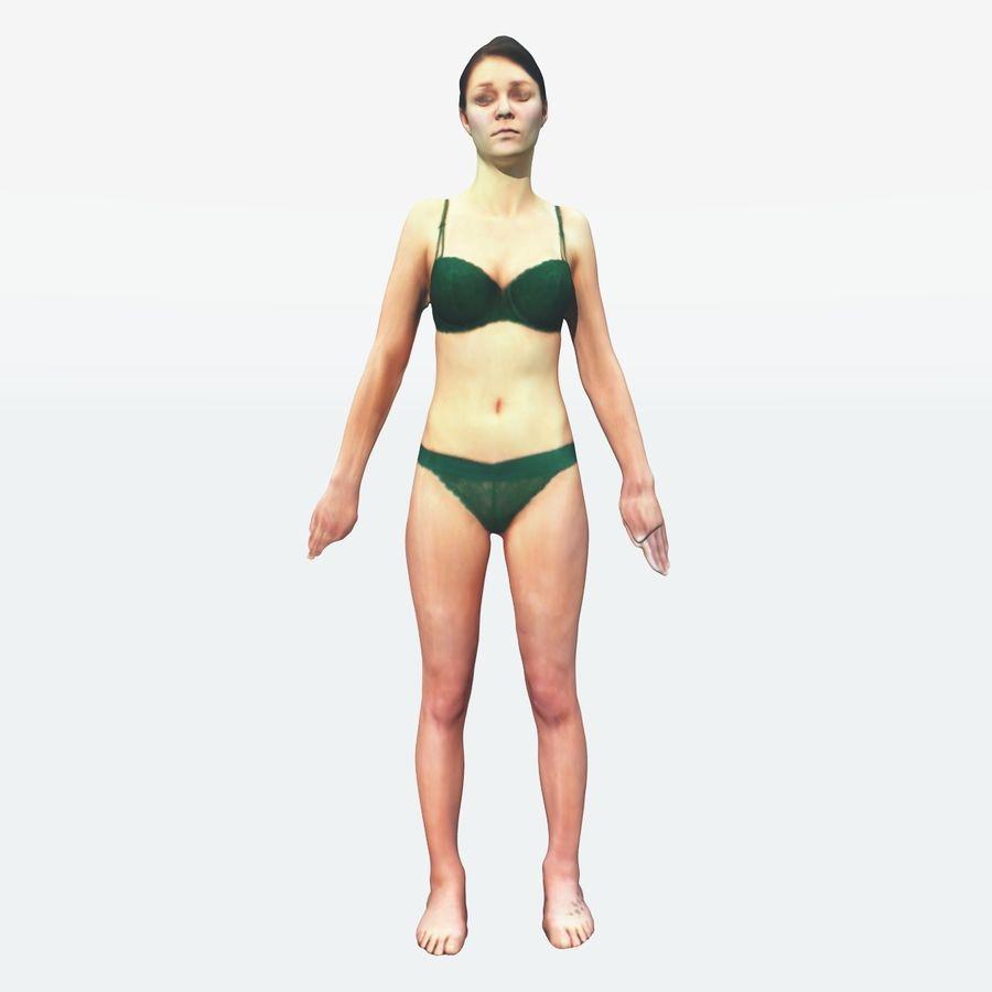 Ref женского тела royalty-free 3d model - Preview no. 13