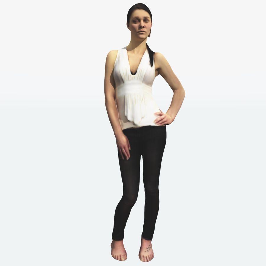 Ref женского тела royalty-free 3d model - Preview no. 18