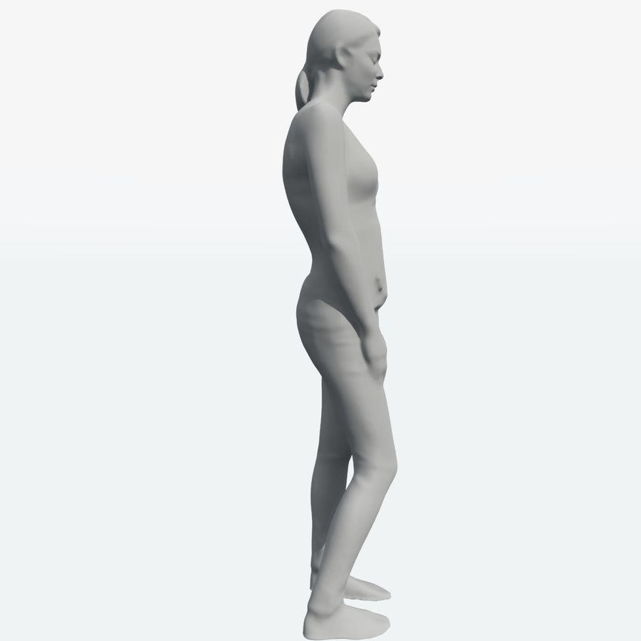 Ref женского тела royalty-free 3d model - Preview no. 5
