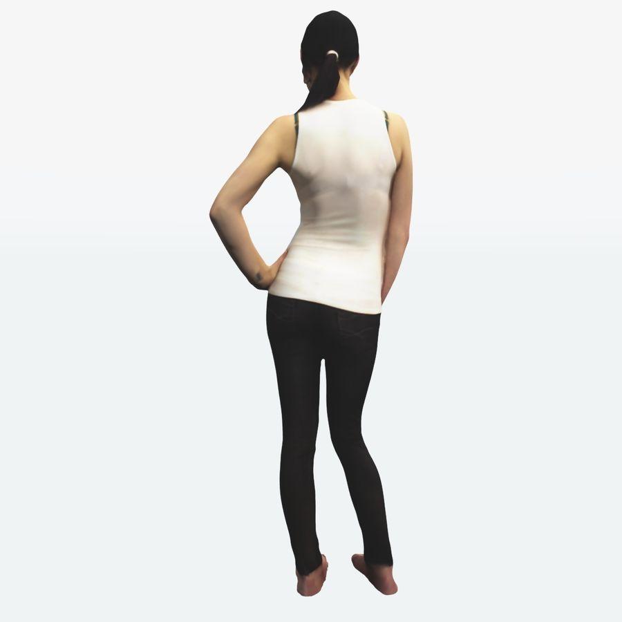 Ref женского тела royalty-free 3d model - Preview no. 8