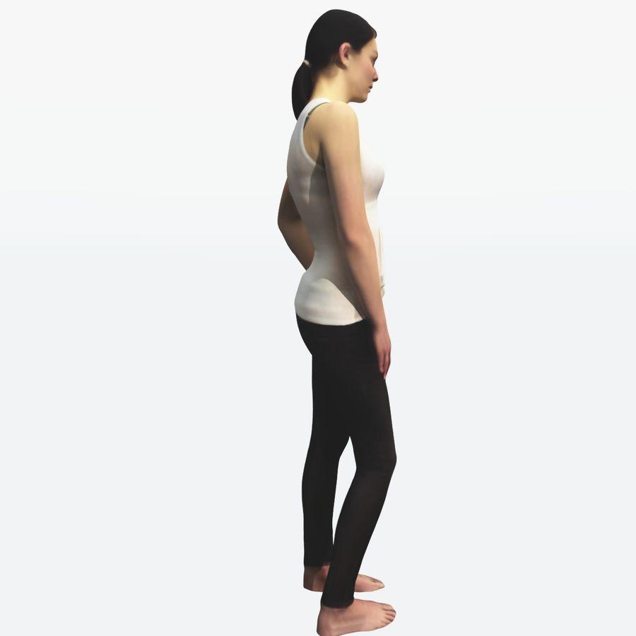 Ref женского тела royalty-free 3d model - Preview no. 9