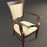 Krzesło Cafe 3d model