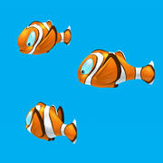 Cartoon Fish - Clown Fish 3d model