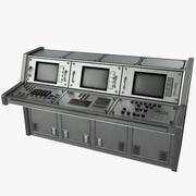 컴퓨터 콘솔 01 3d model