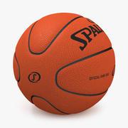 Baloncesto Spalding 2007 modelo 3d