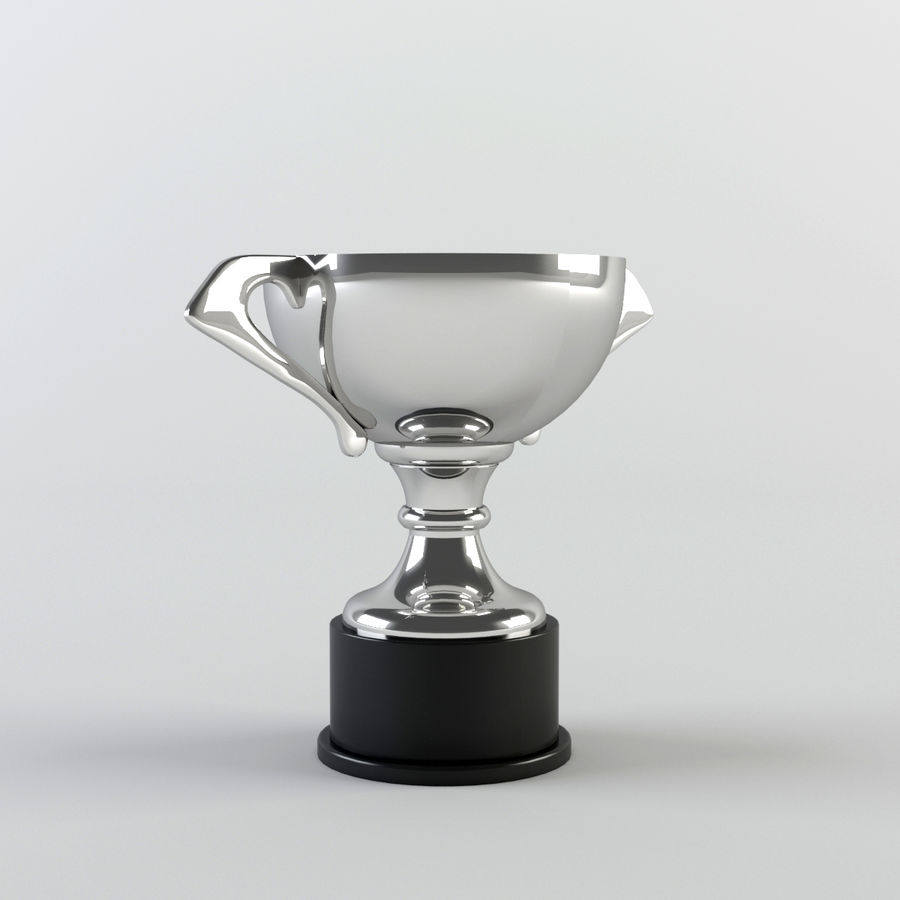 Trophy Cup - Award Set royalty-free 3d model - Preview no. 12