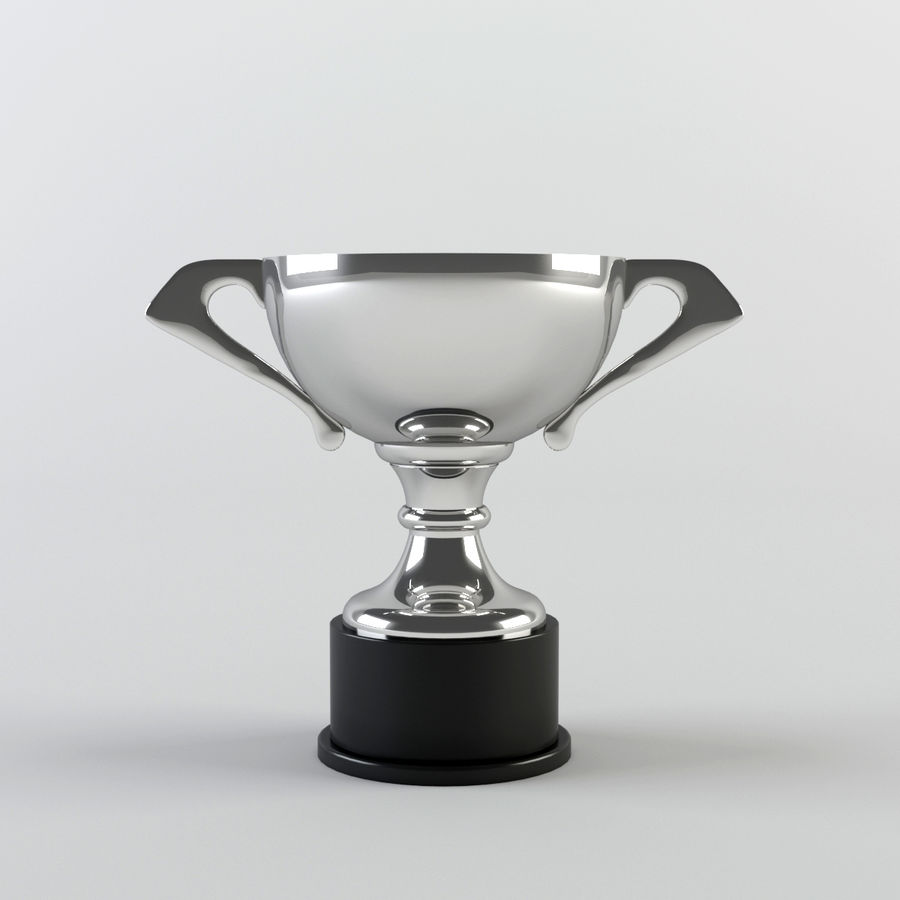 Trophy Cup - Award Set royalty-free 3d model - Preview no. 11