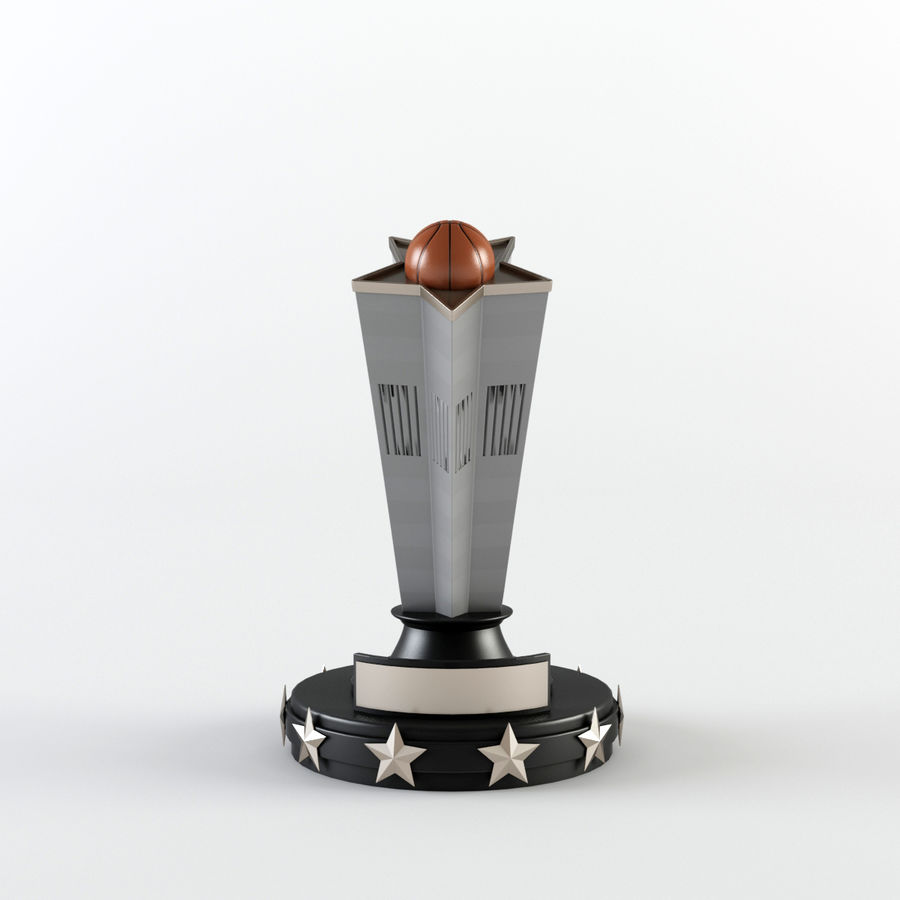 Trophy Cup - Award Set royalty-free 3d model - Preview no. 8