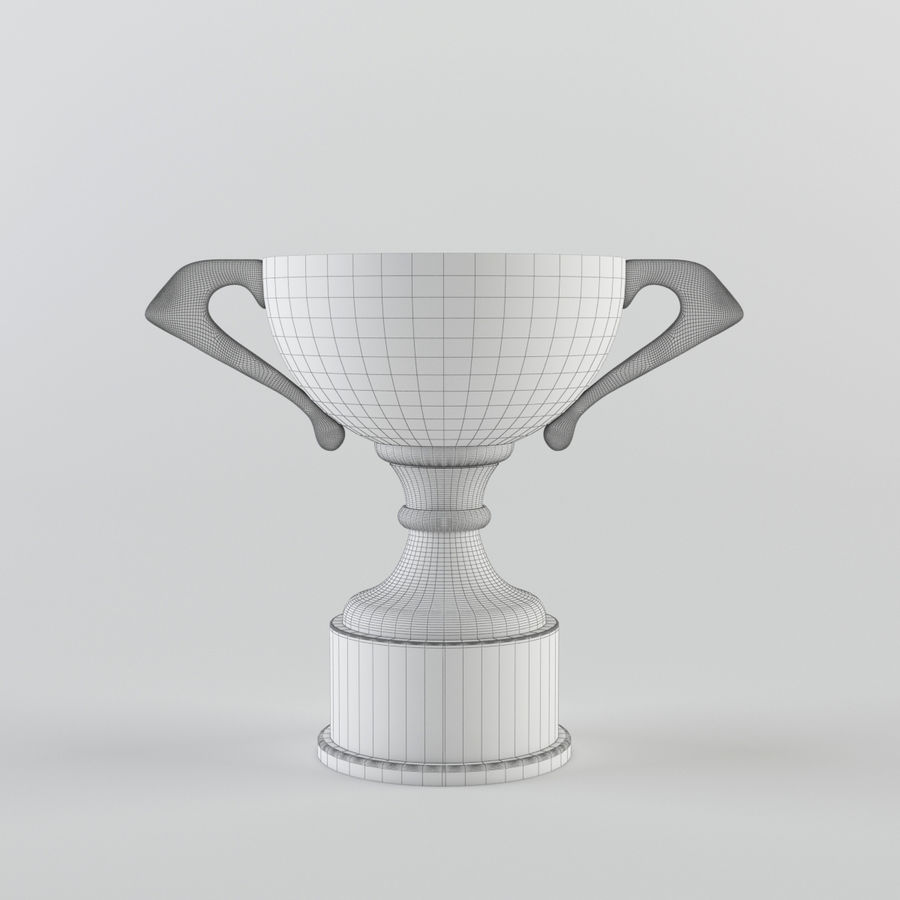Trophy Cup - Award Set royalty-free 3d model - Preview no. 13