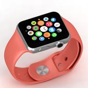 Apple Watch Sport Orange 3d model