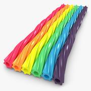 Twizzlers Rainbow 3d model