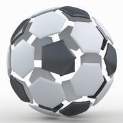 Soccerball split D 3d model